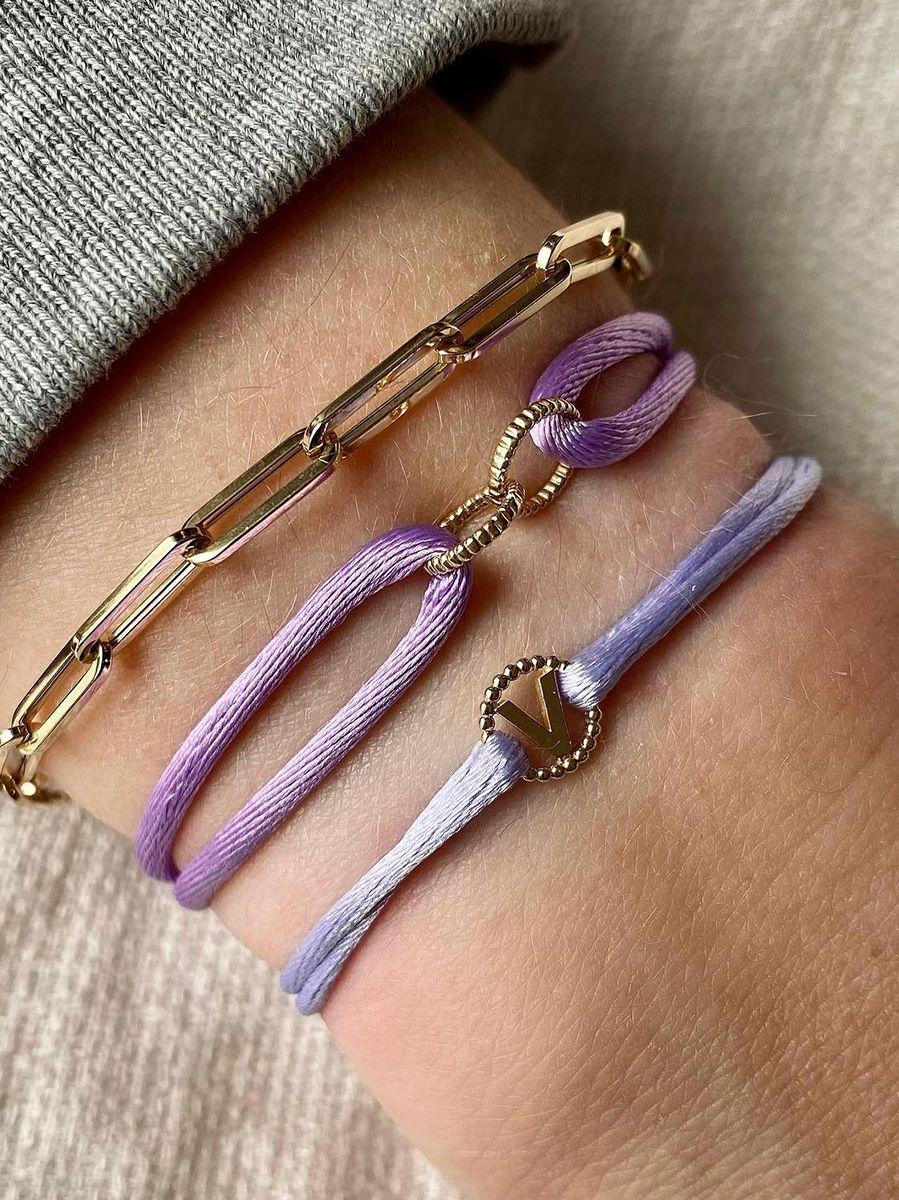 just franky vintage bracelet letter cord 4